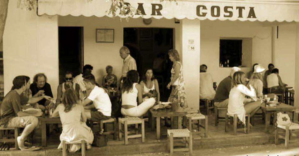 Ibiza, Bar Costa, non solo un