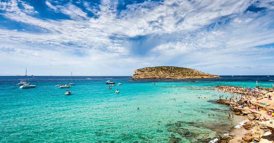 Ibiza, Cala Comte – Acque da far invidia ai Caraibi