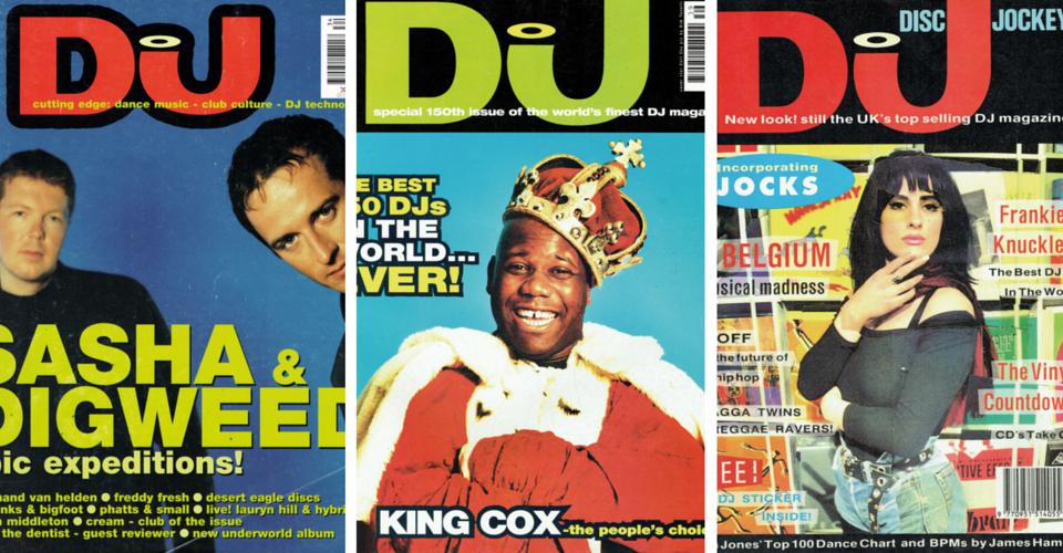 25 anni di DJ Mag - ecco le foto Vintage